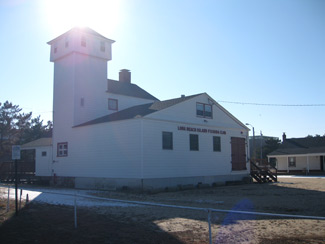 the old Coast Guard station in Harvey Cedars