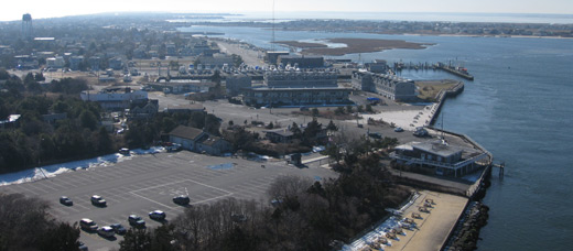 a view of LBI from Barnegat Lighthouse